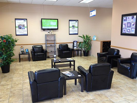 Our Facility Lobby | Honest-1 Auto Care Cottage Grove